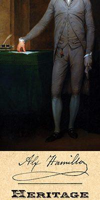 Alexander Hamilton Bookmark