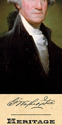 George Washington Bookmark