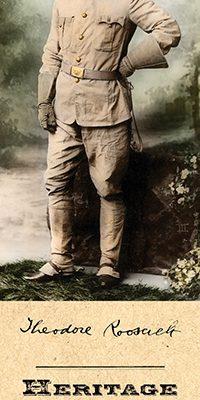 Theodore Roosevelt Bookmark