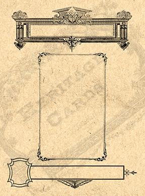 Card Blank 9