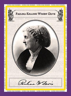 "Paulina Kellogg Davis ""Votes for Women"""