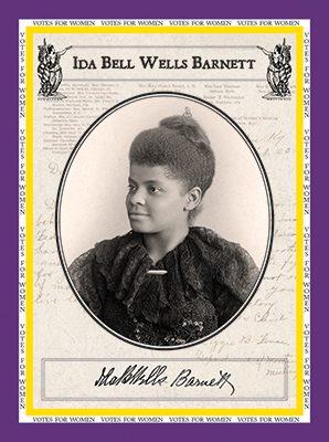"Ida Bell Wells ""Votes for Women"""