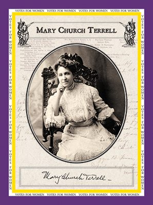 """Mary Church Terrell """"Votes for Women"""""""