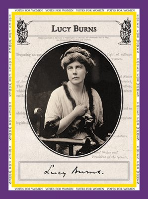 """Lucy Burns """"Votes for Women"""""""