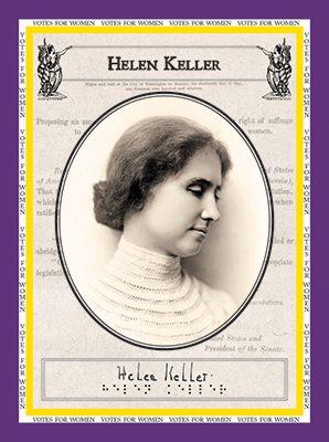 """Helen Keller """"Votes for Women"""""""