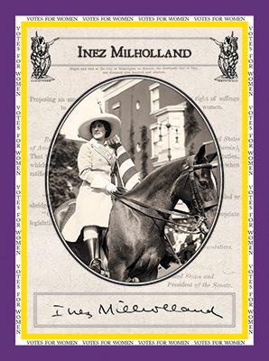 "Inez Milholland ""Votes for Women"""
